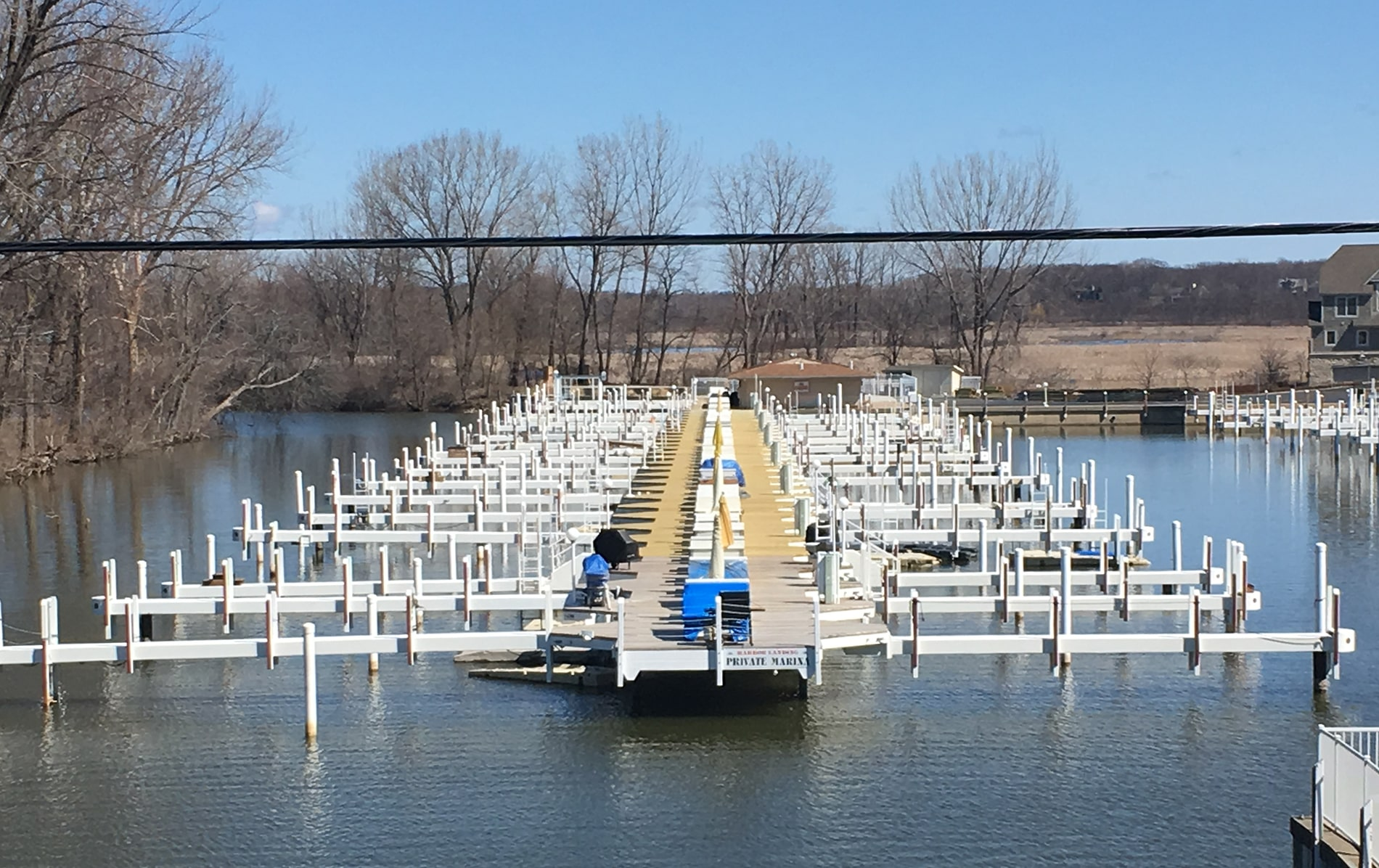 large boat dock installer