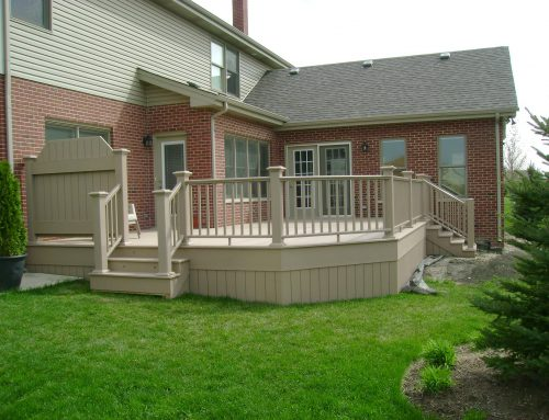 Raised Back Deck Installation