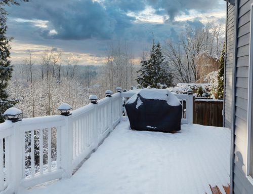 Winter Patio & Wood Deck Maintenance